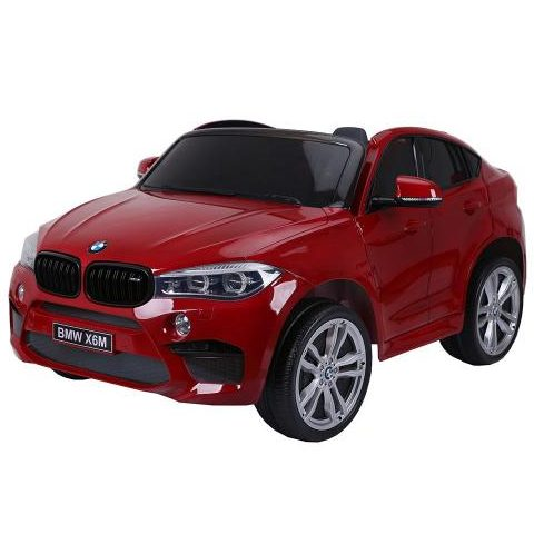 Акумулаторен джип BMW X6M металик – JJ2168 червен