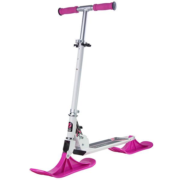 Снежен скутер SNOW KICK бяло и розово