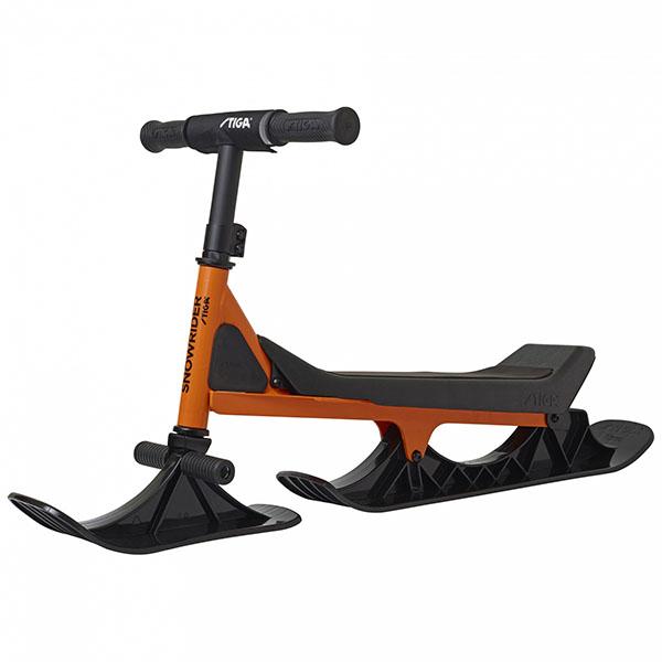 Снежен скутер SNOWRIDER оранжево-черно