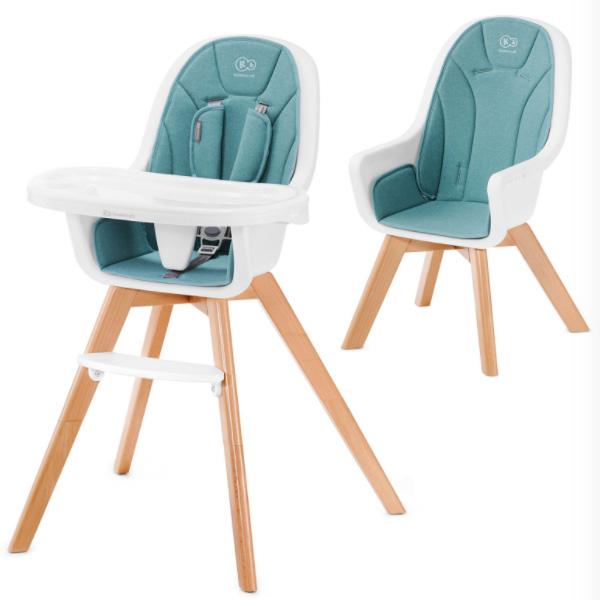 Столче за хранене KinderKraft TIXI, Тюркоаз
