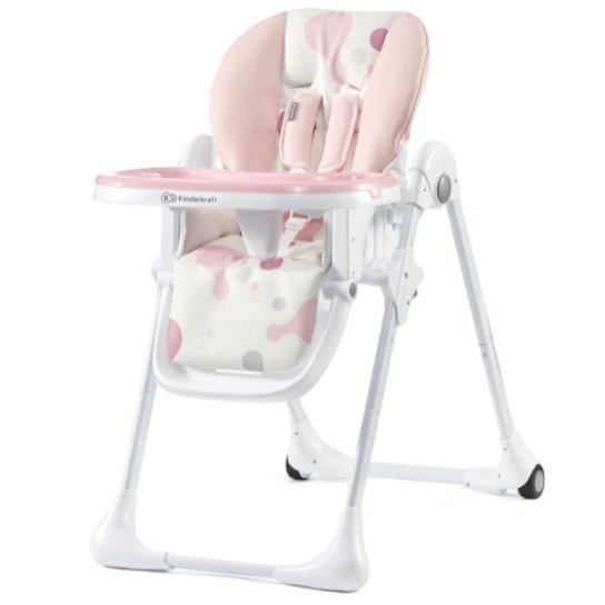 Столче за хранене KinderKraft Yummy, Розово