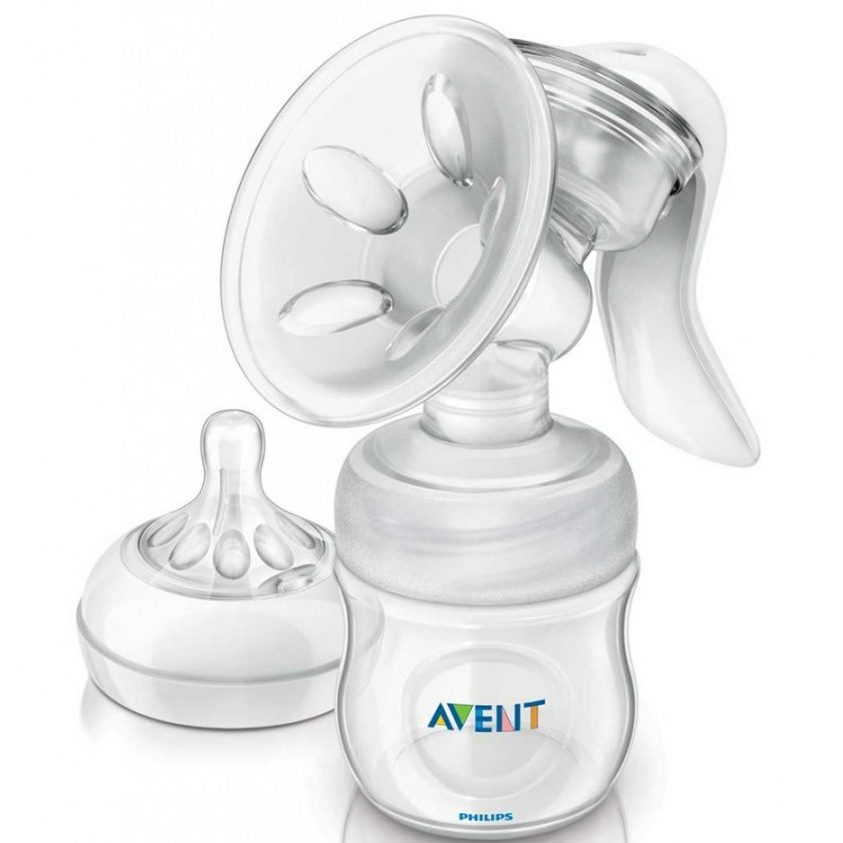 Промо Philips AVENT Механична помпа за изцеждане на кърма Comfort