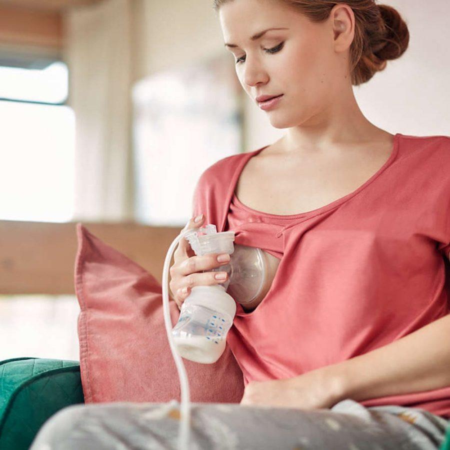 Philips AVENT Комплект за кърмене Natural с помпа за изцеждане Comfort