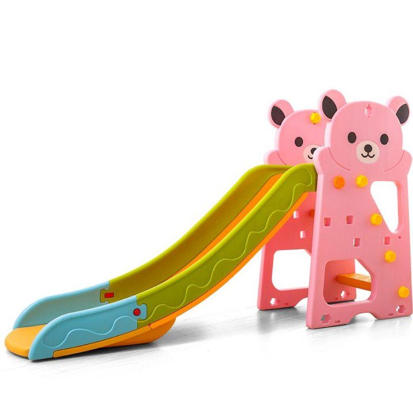 Пързалка Bear розова – 18005