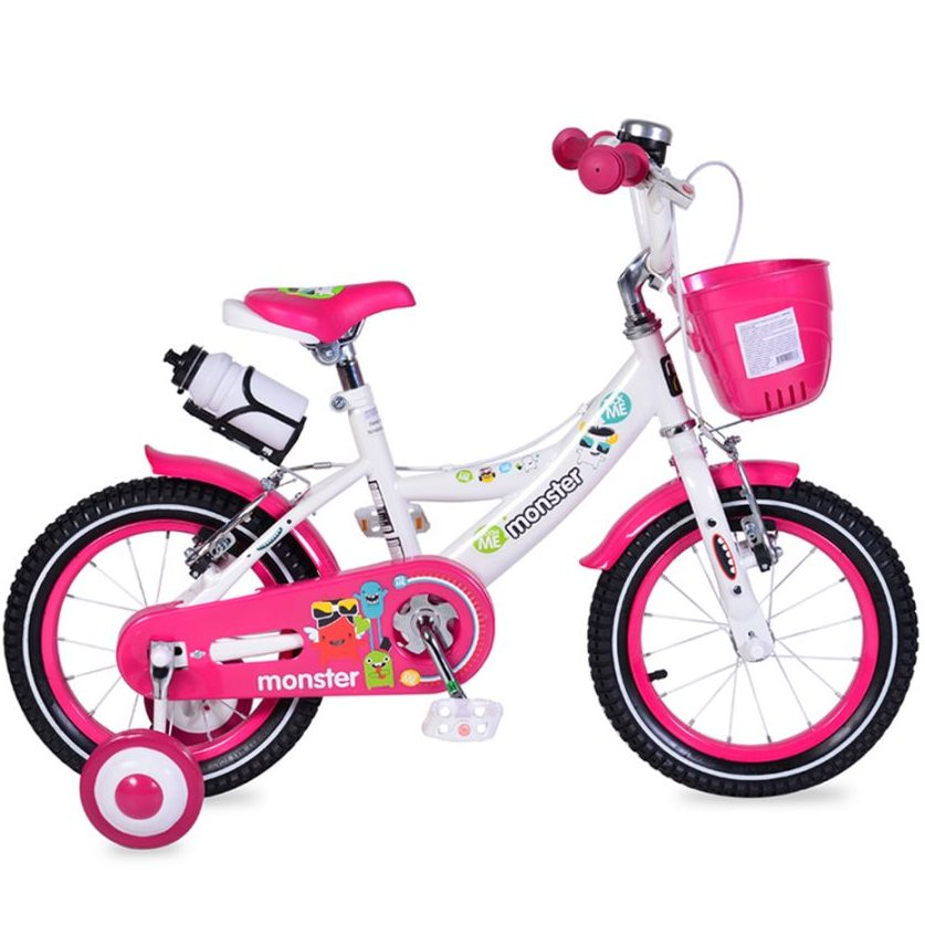 Детски велосипед 14″ – 1481 розов