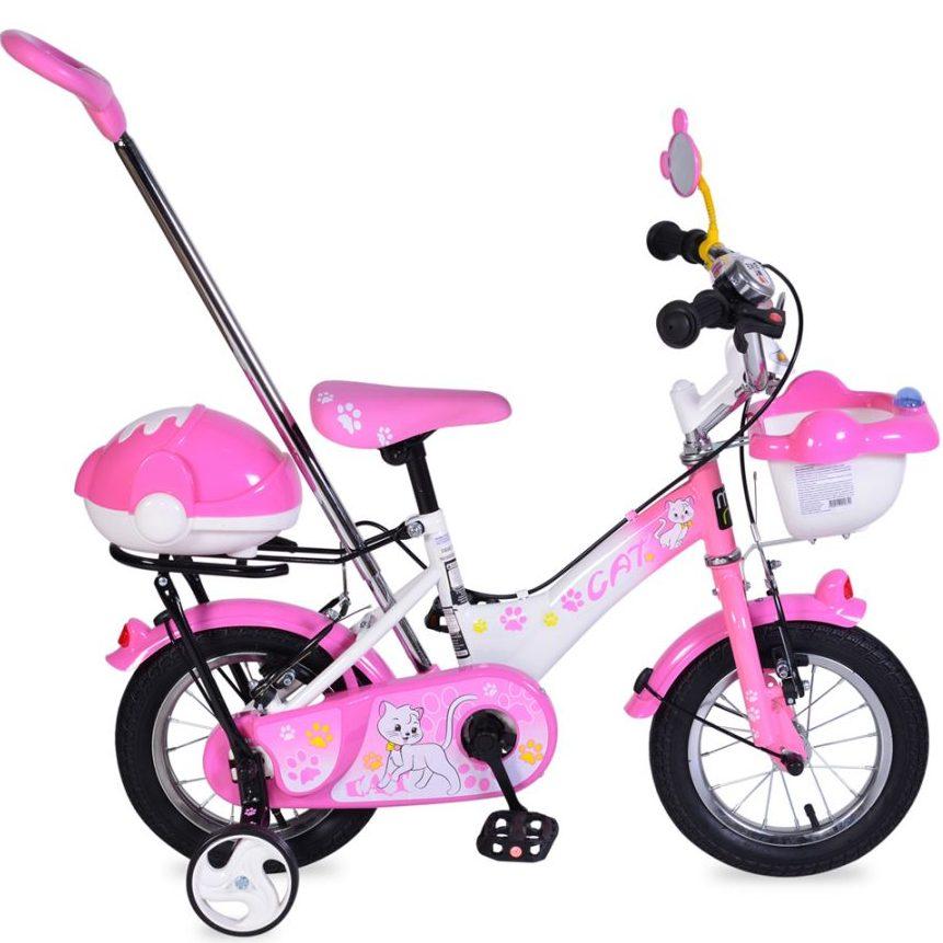 Детски велосипед 12″ Extra – 1282 розов