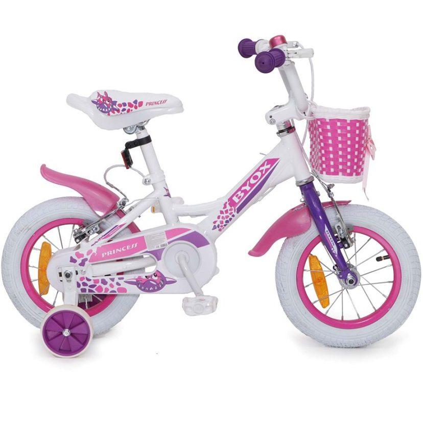Детски велосипед 12″ Princess бял