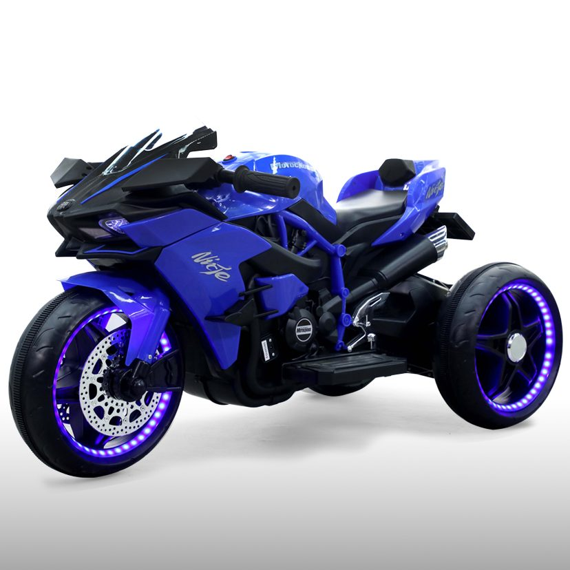 Акумулаторен мотор Ninja син