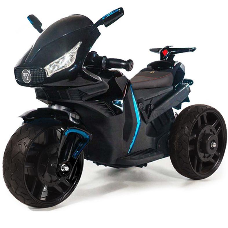 Акумулаторeн мотор Shadow с кожена седалка – 6688 черен