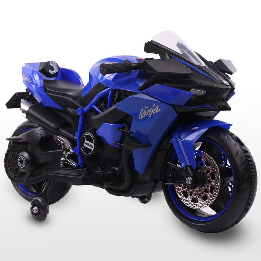 Акумулаторен мотор Ninja Duo син