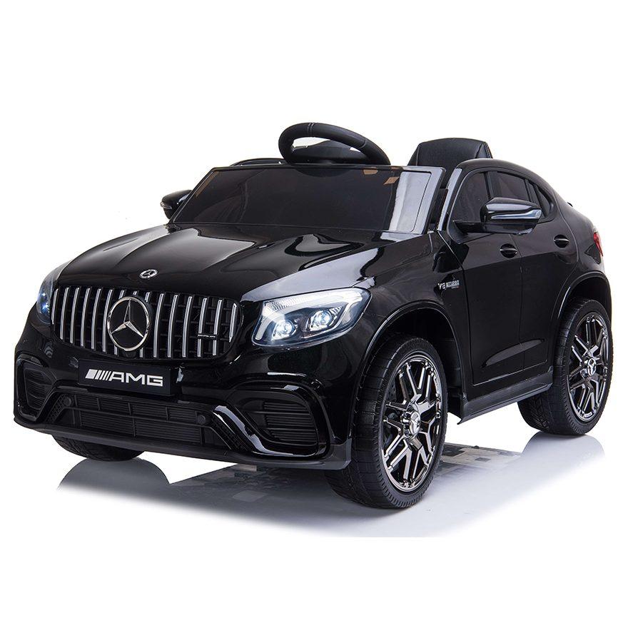 Акумулаторен джип Mercedes GLC 63 S AMG металик – QLS-5688 черен