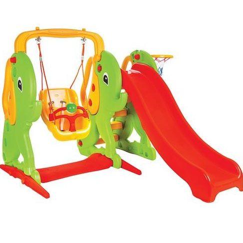 Пързалка с люлка Слонче – 06161