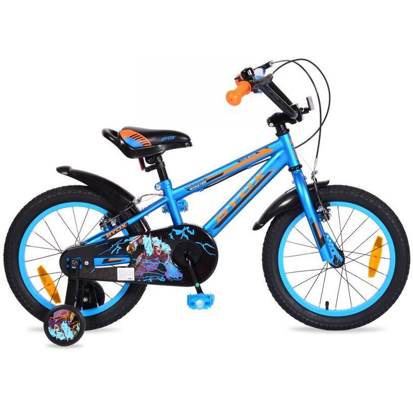 Детски велосипед 16″ Monster син