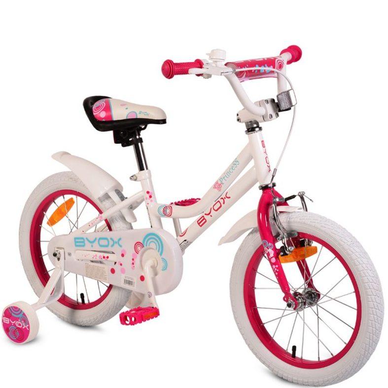 Детски велосипед 16″ Little Princess бял