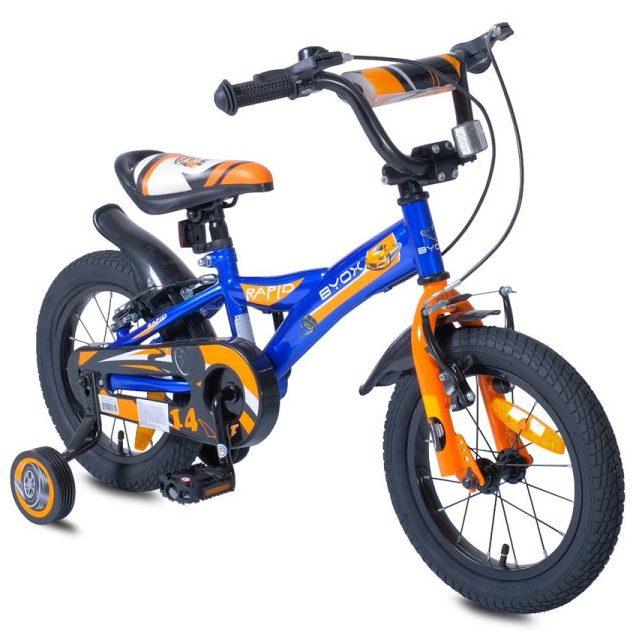 Детски велосипед 14″ Rapid син