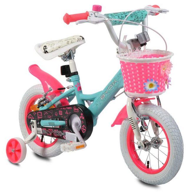 Детски велосипед 12″ Princess тюркоаз