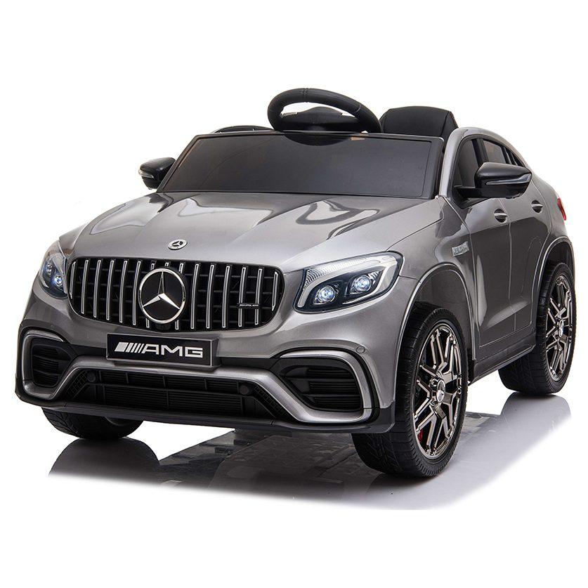 Акумулаторен джип Mercedes GLC 63 S AMG металик – QLS-5688 сребист