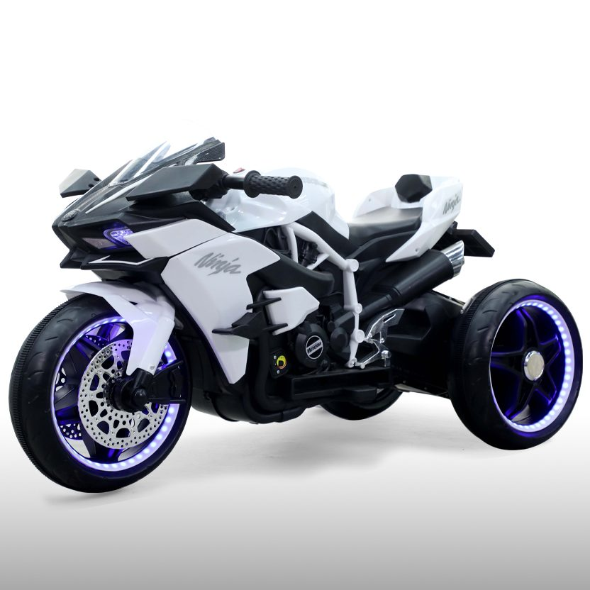 Акумулаторен мотор Ninja бял