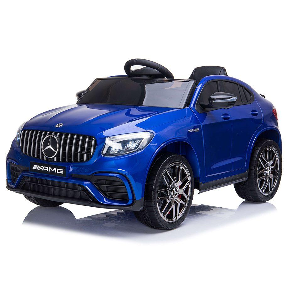 Акумулаторен джип Mercedes GLC 63 S AMG металик – QLS-5688 син