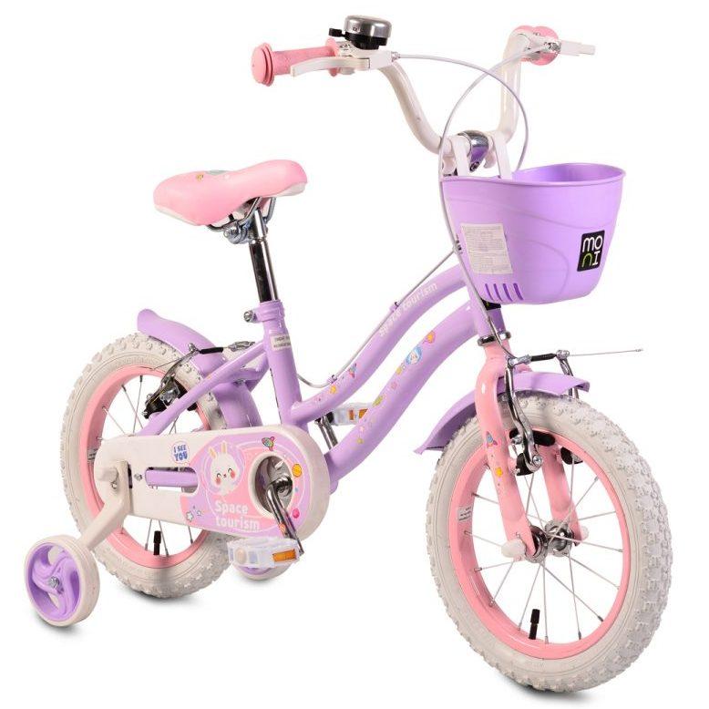 Детски велосипед 14″ – 1483 лилав
