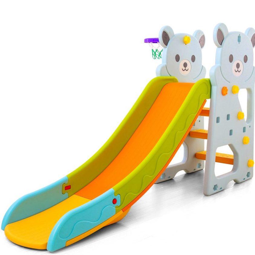 Пързалка Bear синя – 18005