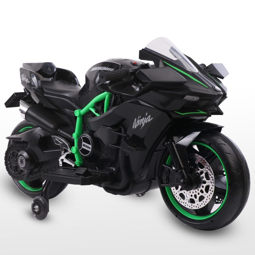 Акумулаторен мотор Ninja Duo черен