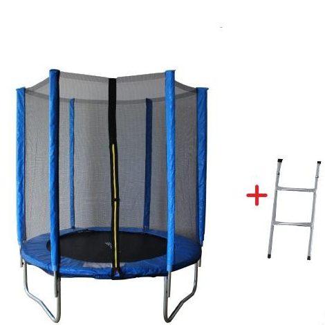 Батут с външна мрежа 6FT Jump – 183 см