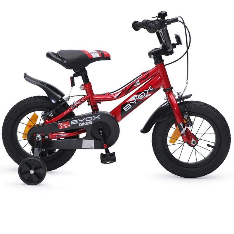 Детски велосипед 12″ Prince червен