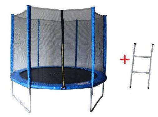 Батут с външна мрежа 8FT Jump – 244 см