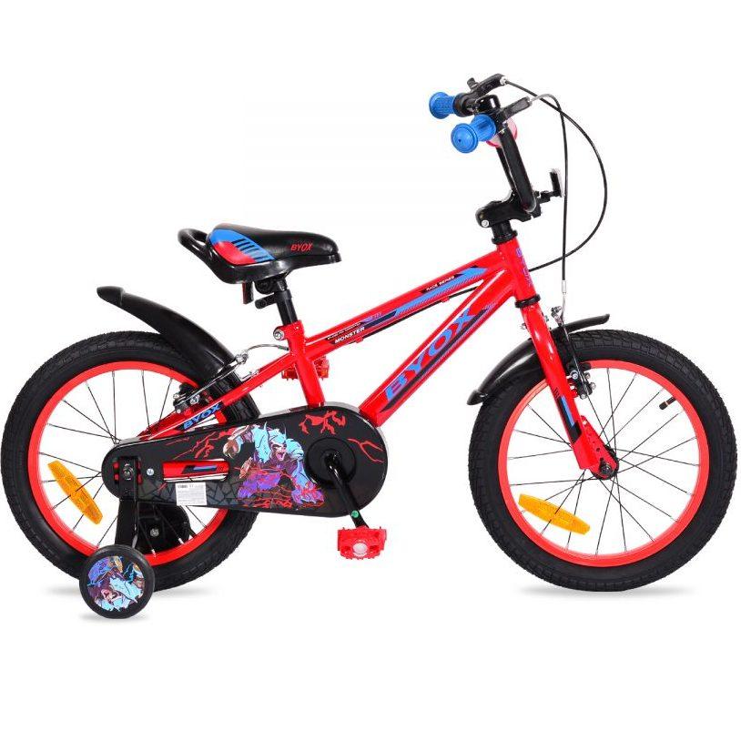 Детски велосипед 16″ Monster червен