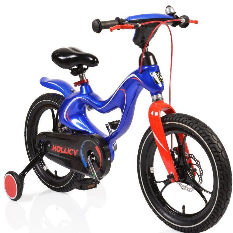 Детски магнезиев велосипед 16MH син