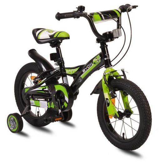 Детски велосипед 14″ Rapid зелен