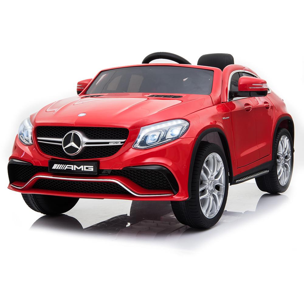 Акумулаторен джип Mercedes AMG GLE63 Coupe металик – A005 червен