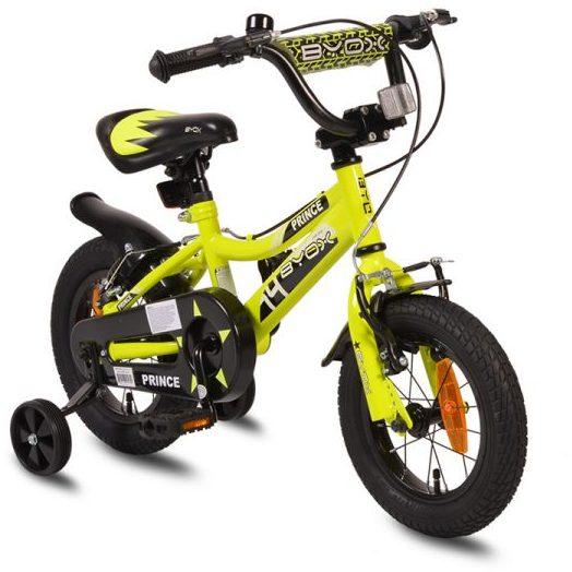 Детски велосипед 12″ Prince зелен