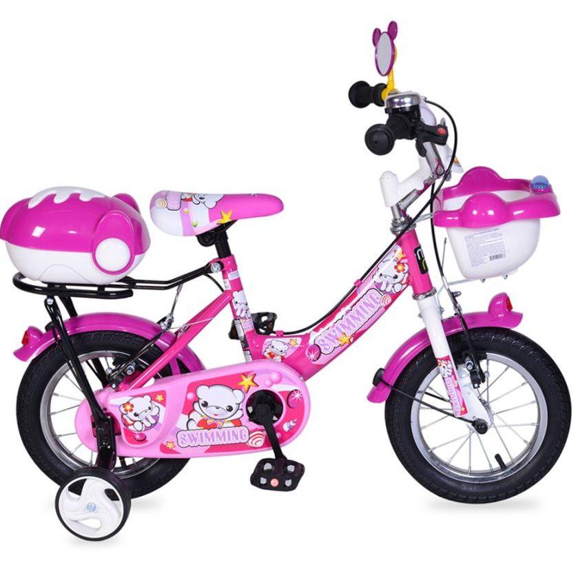 Детски велосипед 12″ – 1282 розов