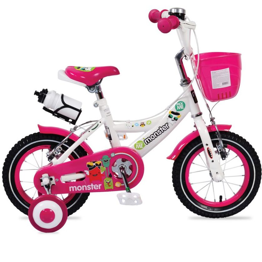 Детски велосипед 12″ – 1281 розов