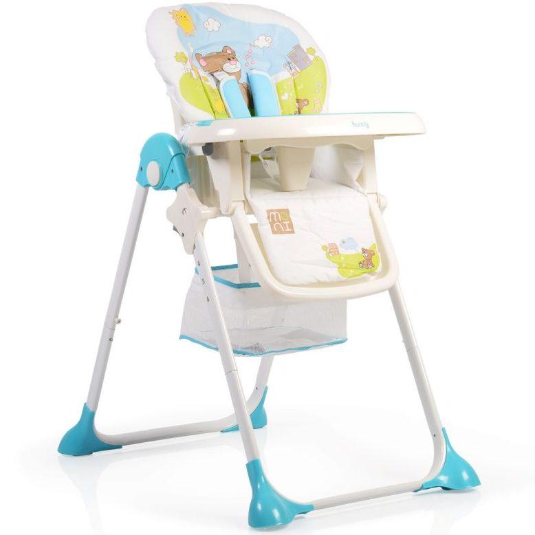 Детски стол за хранене Hunny син
