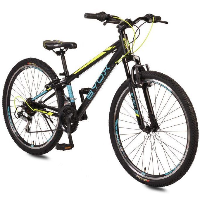 Велосипед със скорости 26″ MASTER тюркоаз/жълт
