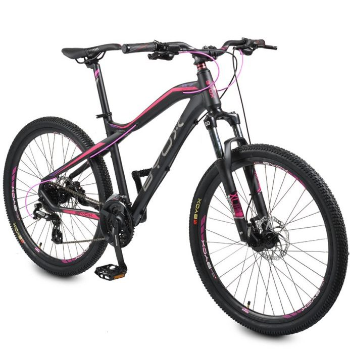 "Велосипед със скорости 26"" B7 alloy розов"