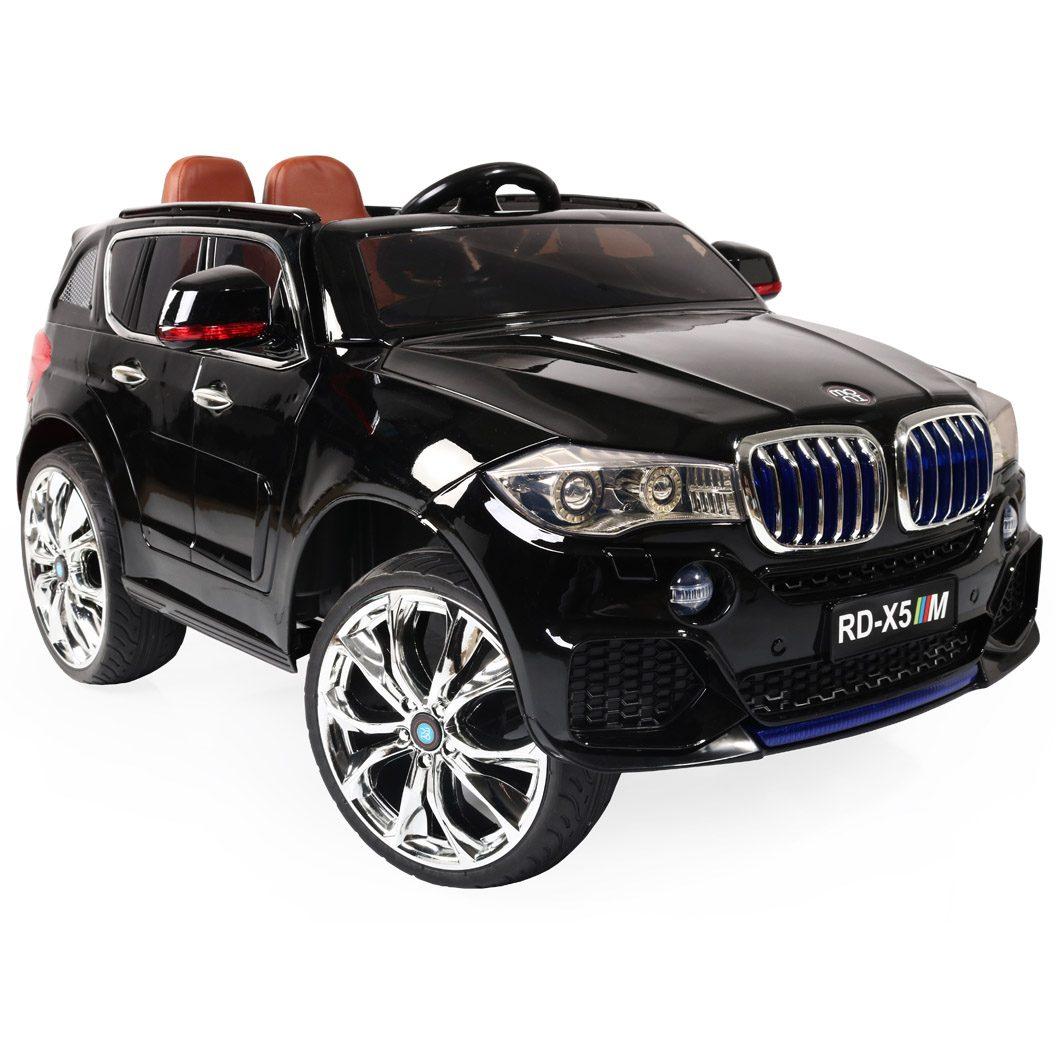 Акумулаторен джип BMW M5X металик – RD500 черен