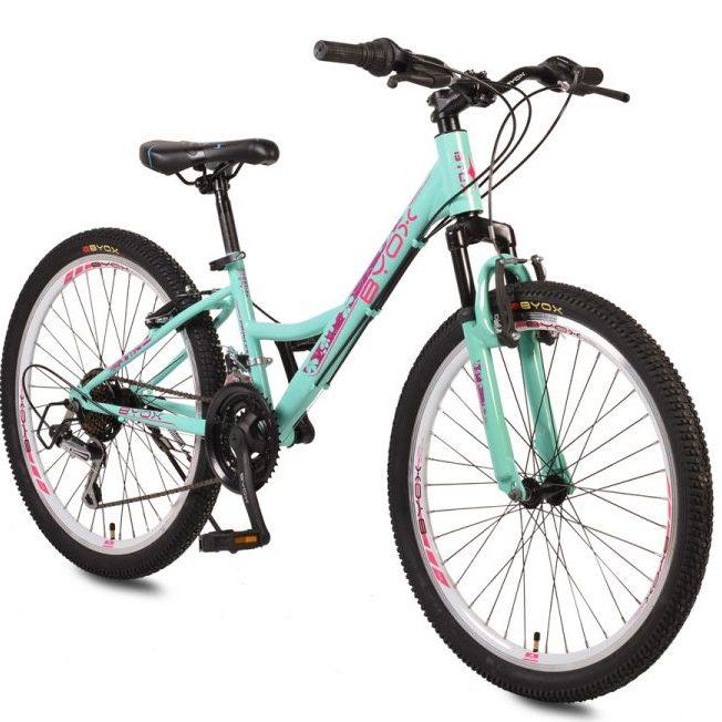 Велосипед със скорости 24″ PRINCESS тюркоаз