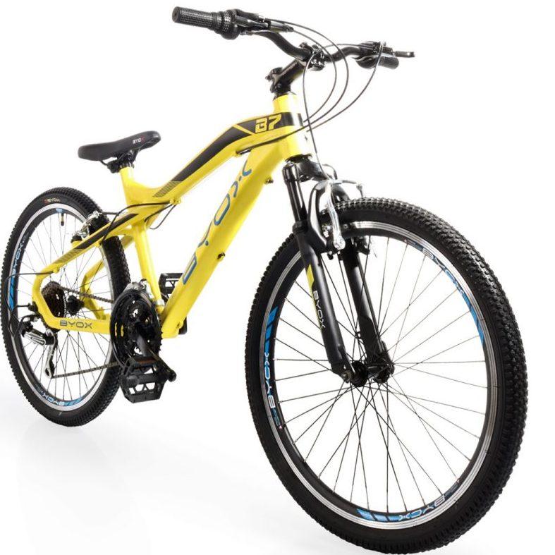 Велосипед със скорости 24″ B7 жълт