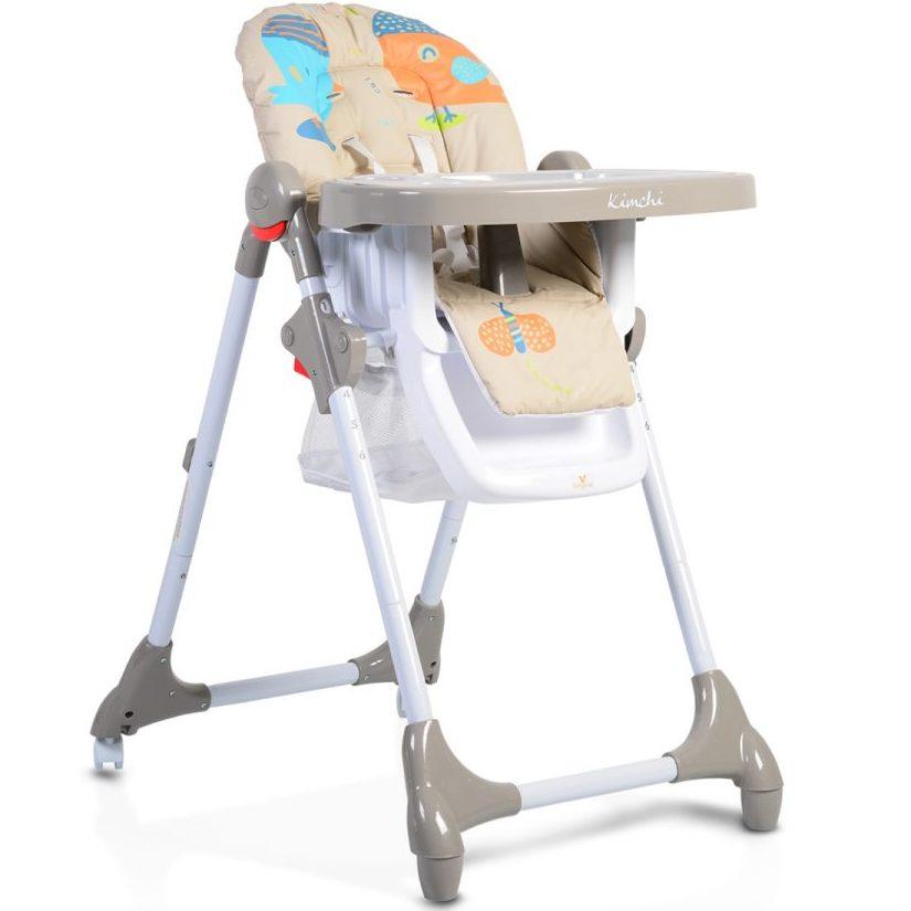 Детски стол за хранене Kimchi каки