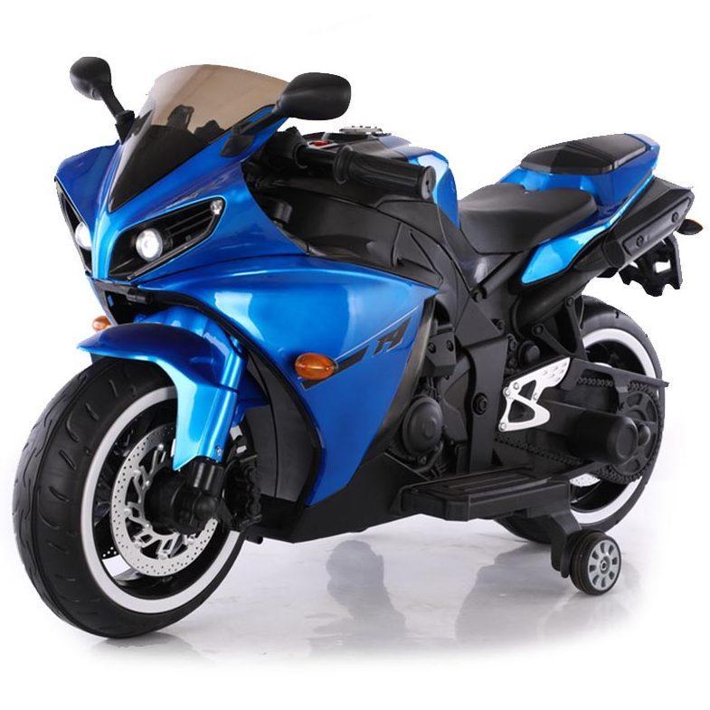 Акумулаторен мотор Aspen металик син