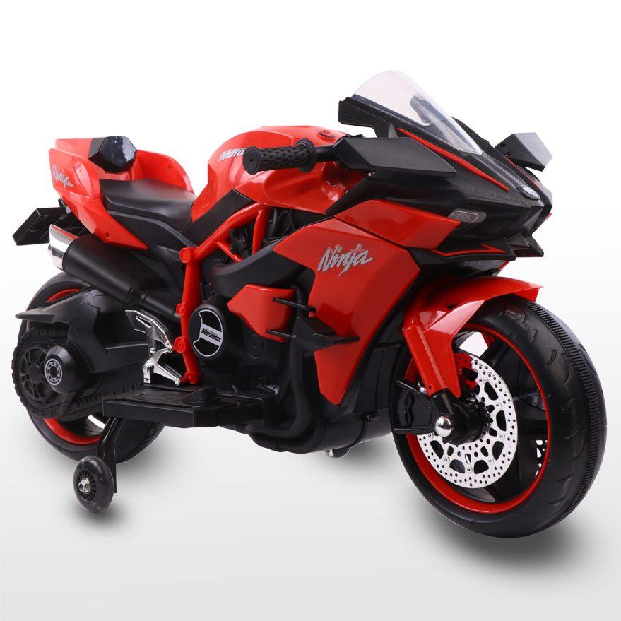 Акумулаторен мотор Ninja Duo червен
