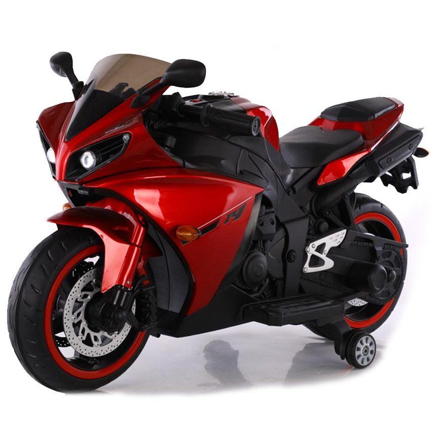 Акумулаторен мотор Aspen металик червен
