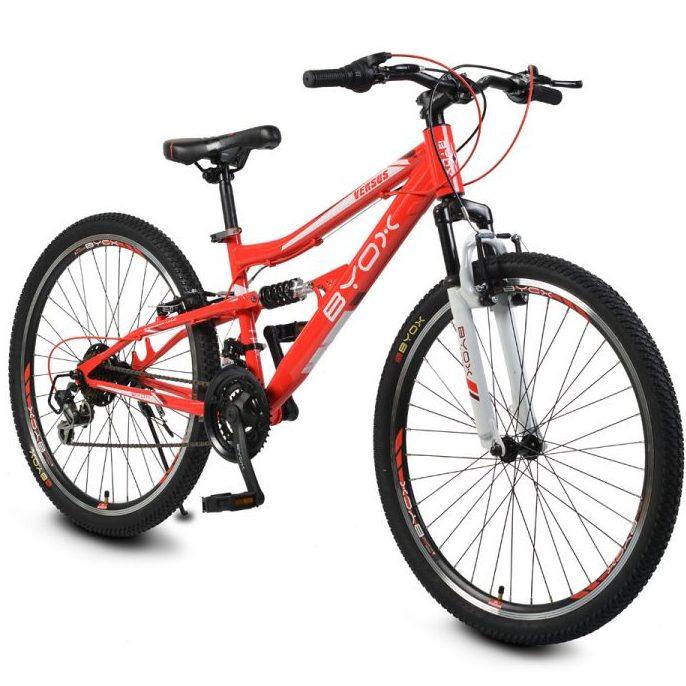 Велосипед със скорости 26″ VERSUS червен
