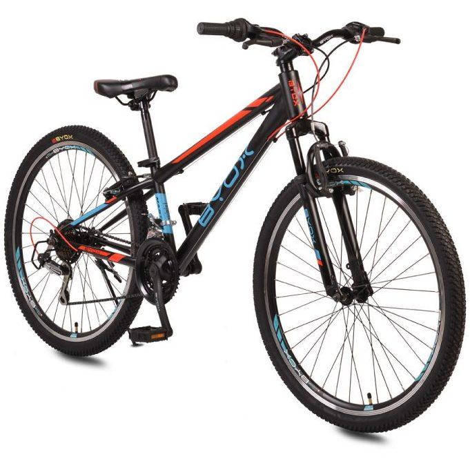 Велосипед със скорости 26″ MASTER син/червен