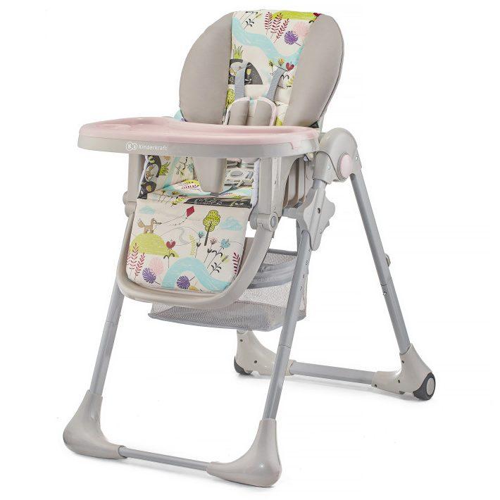 Столче за хранене KinderKraft TASTEE, Розово