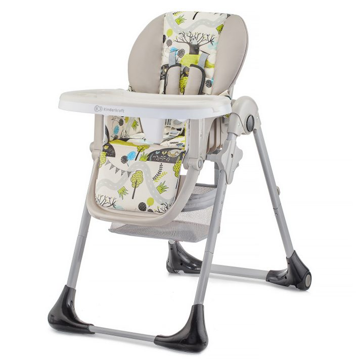 Столче за хранене KinderKraft TASTEE, Зелено